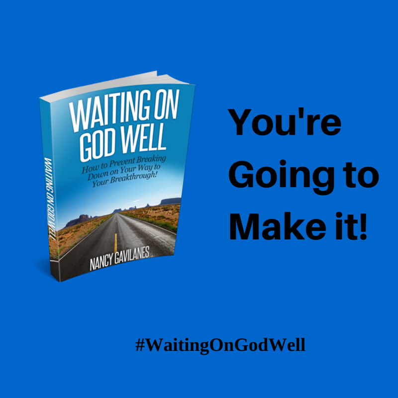 Announcing the release of my first ebook Waiting on God Well: How to Prevent Breaking Down on the Way to Your Breakthrough! Don't give up in the middle of your journey! Learn more at: http://www.miraculouslovely.com/2014/12/29/how-to-wait-on-god-well-announcing-my-new-ebook/ #WaitingOnGodWell