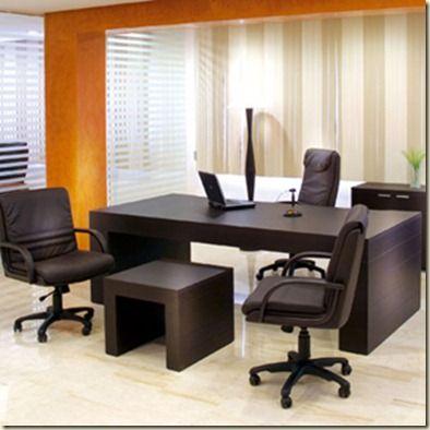 Oficinas decoradas muebles para oficinas dise os de for Muebles para despacho de abogados