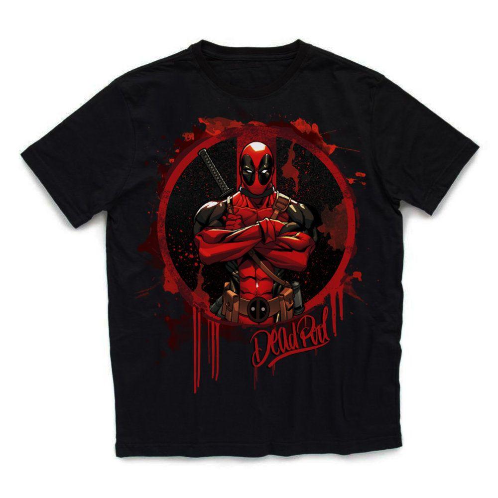85edd3a9b Camiseta Deadpool - Piticas
