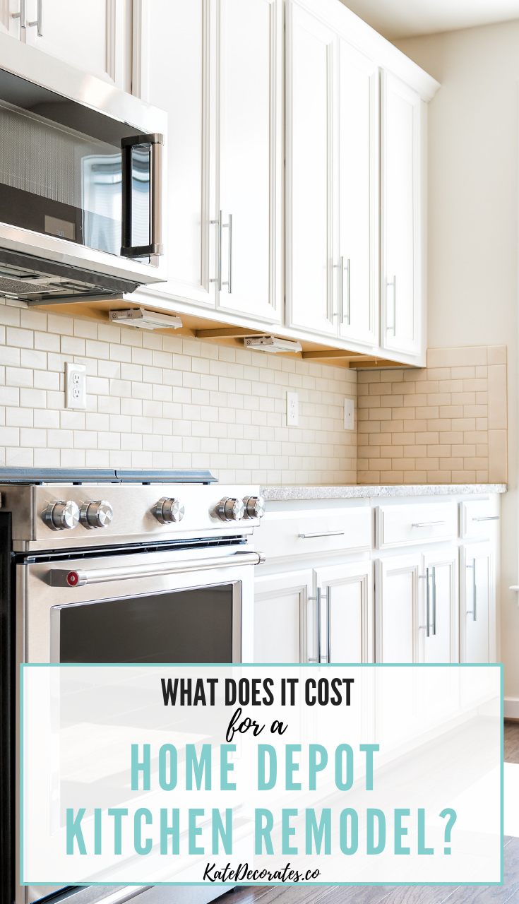 How Much Does A Home Depot Kitchen Cost Home Depot Kitchen
