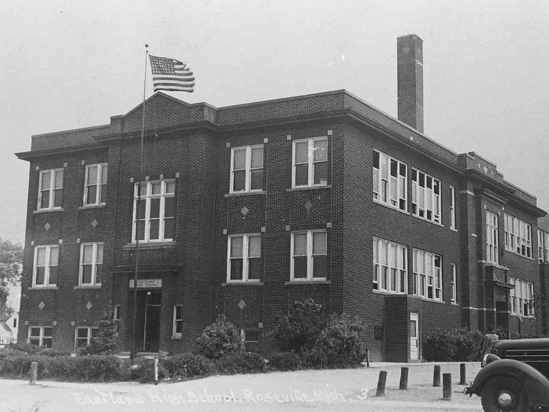 The Eastland school district was formed in The school was located on  Eastland Street between Gratiot Avenue & Utica Road. (Taken down to build  Roseville ...
