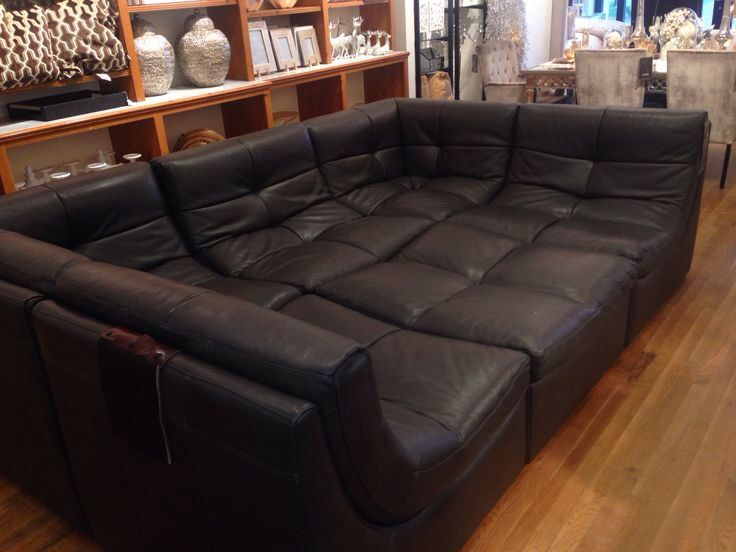 Movie Pit Couch Large Couch Extra Large Sectional Sofa Large