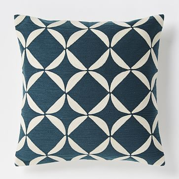 Mike Office Throw Pillow Crewel Circlet Pillow Cover 20