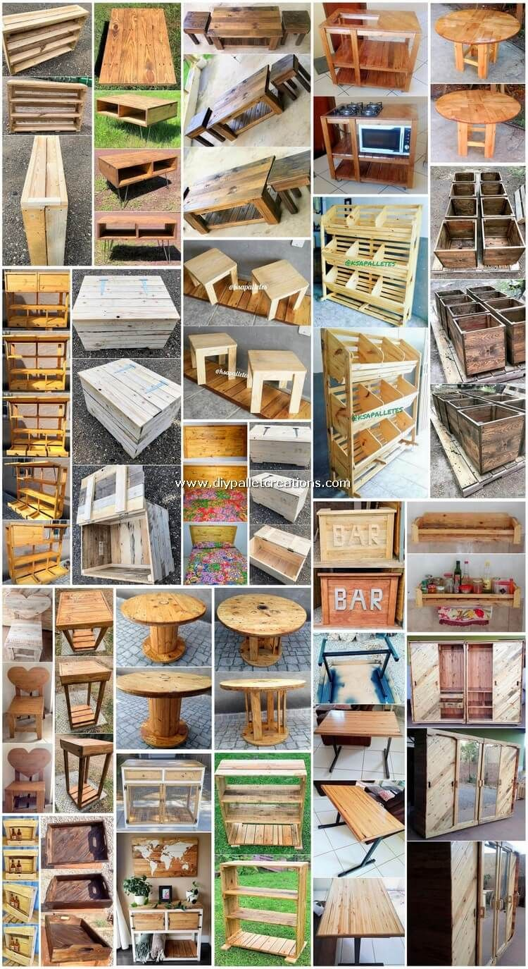 Perfect Ideas Made Out Of Shipping Pallets Diy Pallet Projects