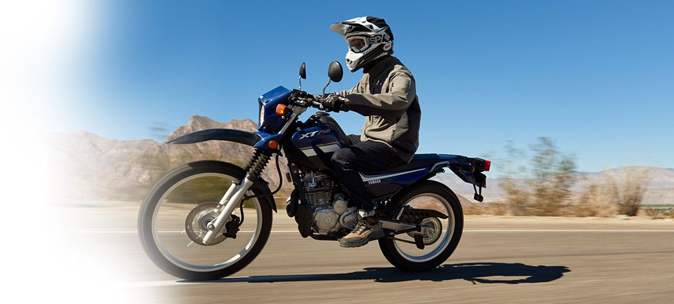 2016 Yamaha XT250 Adventure Touring Dual Sport Motorcycle Model