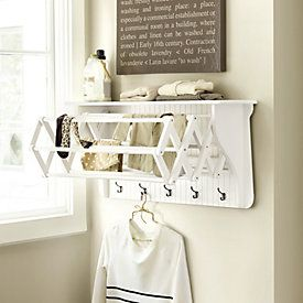Wall Mounted Drying Racks For Laundry Room Entrancing Corday Accordion Drying Rack  Laundry Room  Pinterest  Laundry Review