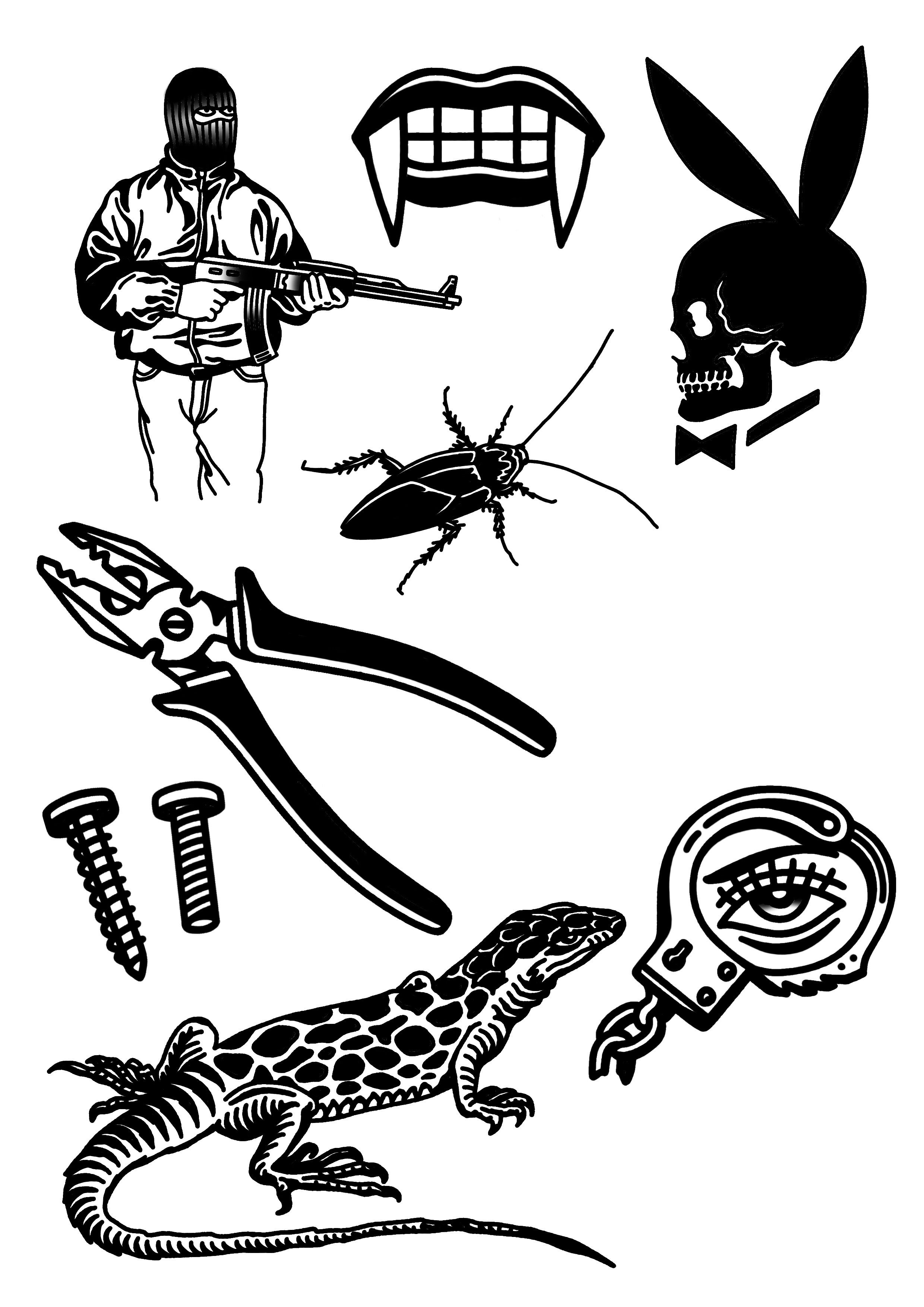 Tattoo Drawings, Tattoo Flash Art