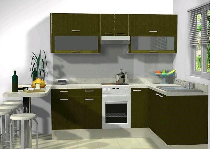 Cocinas integrales econ micas y bonitas familia mart nez for Modelos de cocinas pequenas y bonitas