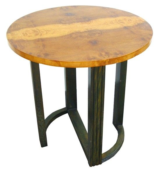Hastings Coffee Table: Donald Deskey American Art Deco Occasional Table For