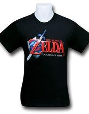 099b4f16b Legend of Zelda Ocarina Logo T-Shirt | zelda love | Shirts, T shirt ...