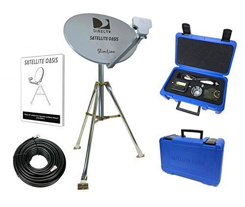 Eagle Dual Ground Block 50 Pack Antenna HDTV Satellite Dish Coaxial Cable F Type
