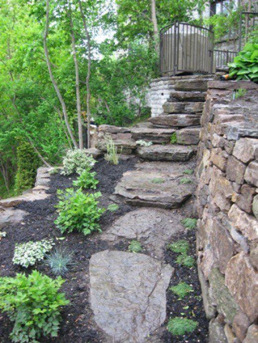 build dry-stack stone