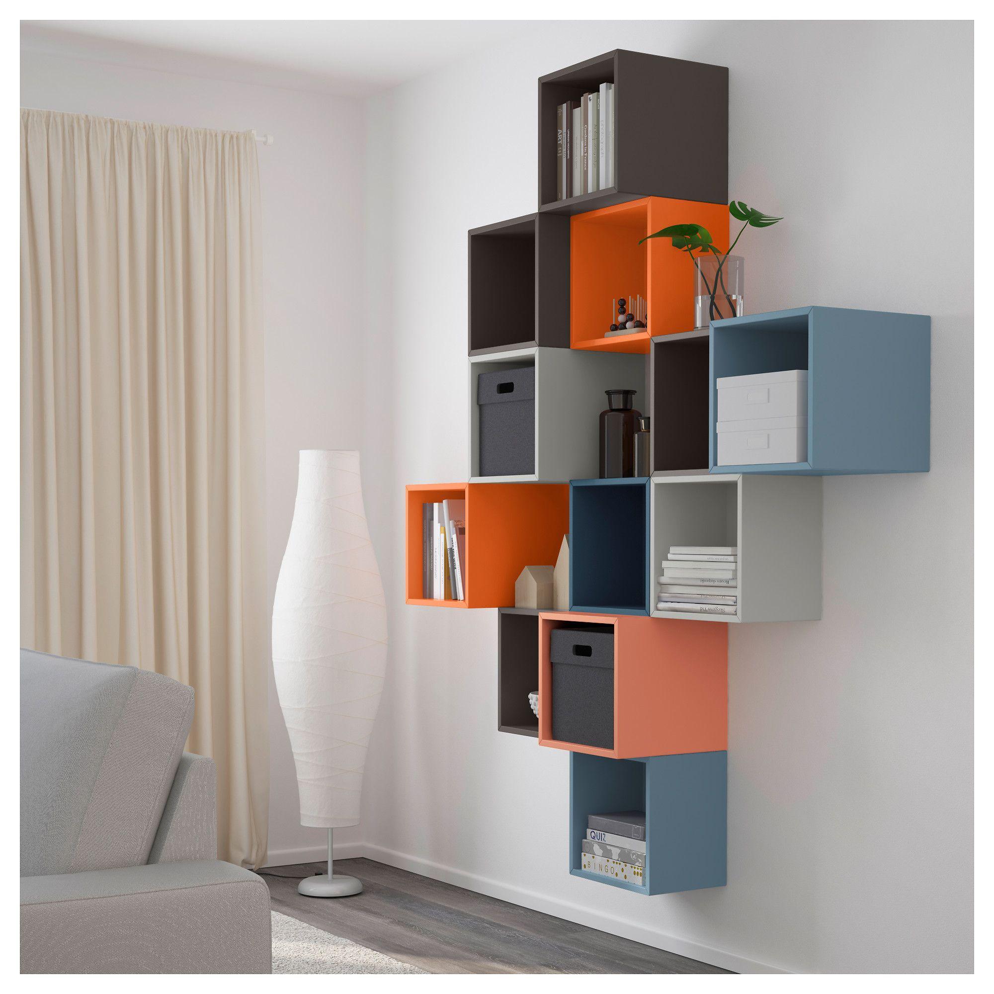 Ikea экет комбинация настенных шкафов разноцветный