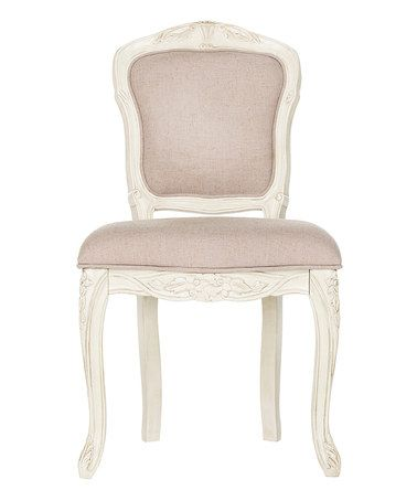 Another great find on #zulily! Taupe Baylee Side Chair - Set of Two #zulilyfinds