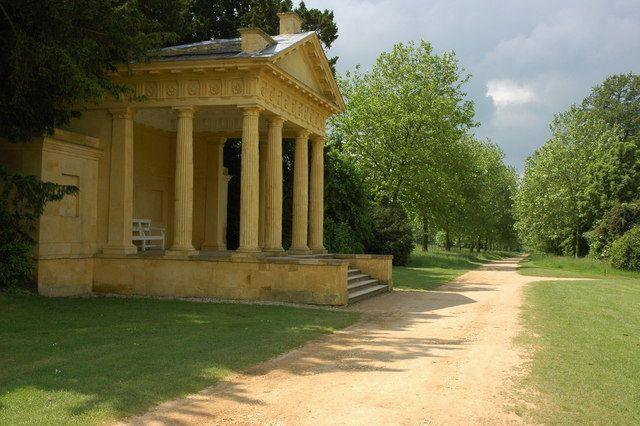 Western Lake Pavilion Stowe Gardens Buckinghamshire England