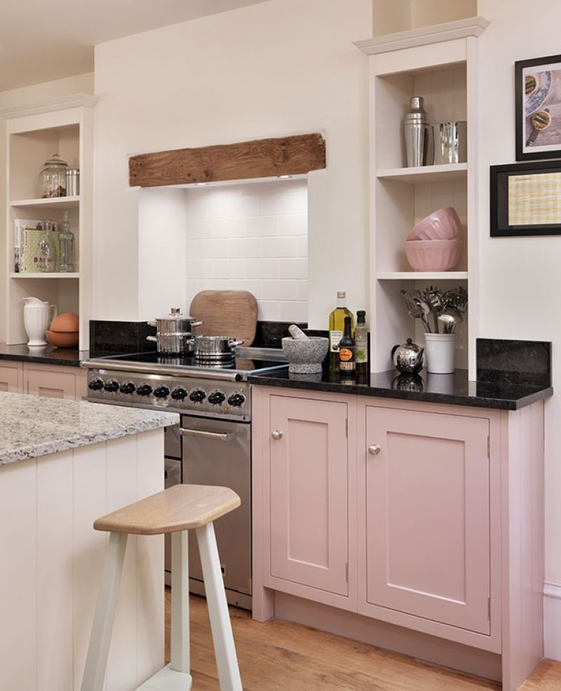 Bright Pink Paint Samples Kitchen Towels: Shaker Kitchen By John Lewis Of Hungerford, In Their