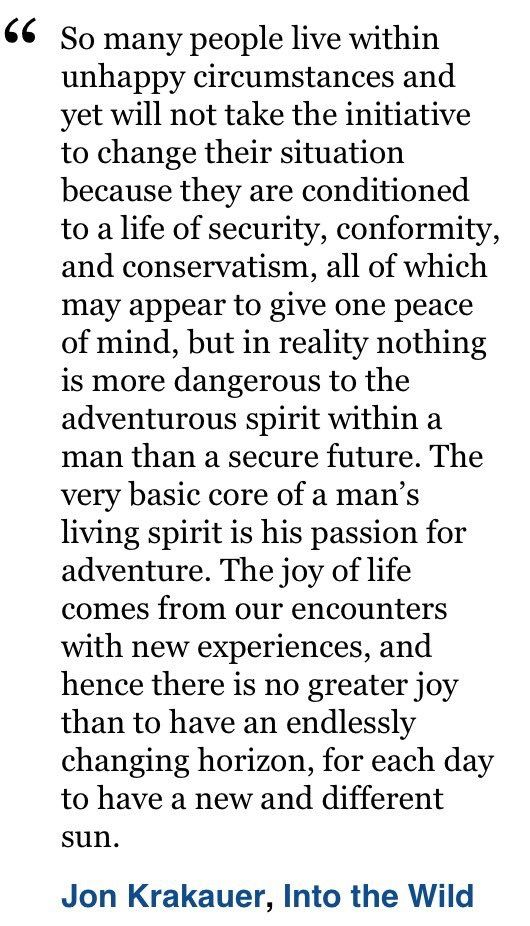 Jon Krakauer Into The Wild Books Literature Literature Related Beauteous Into The Wild Book Quotes