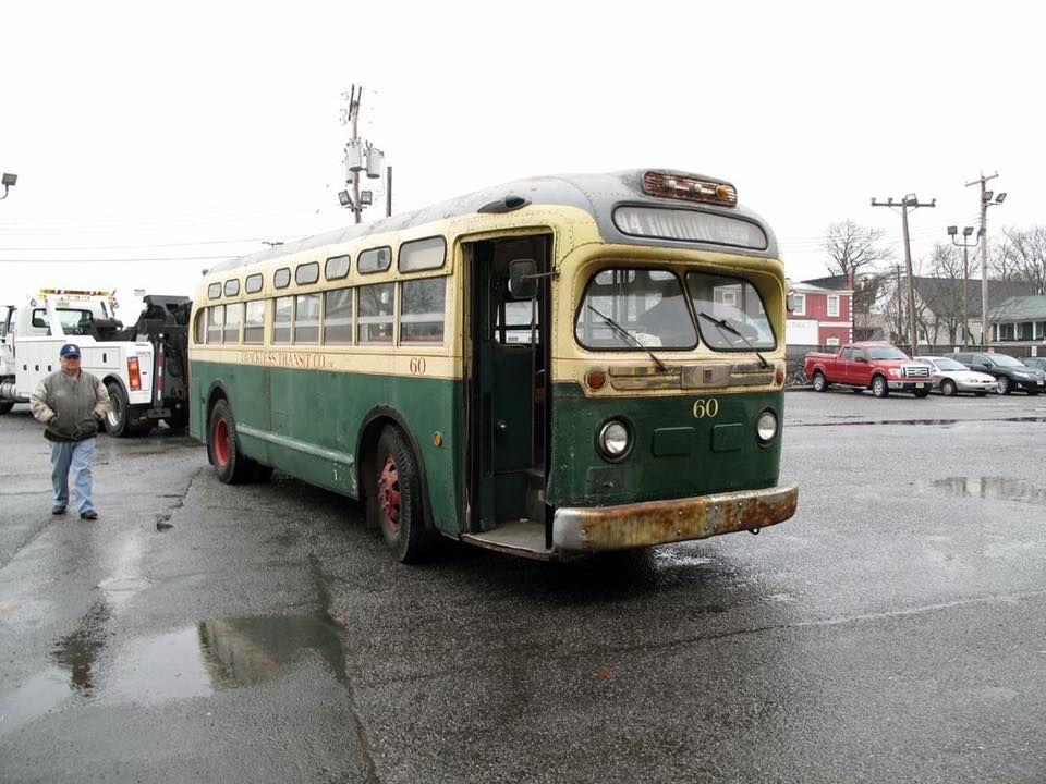 1948 old style NJ Bus, Clifton, Old pictures