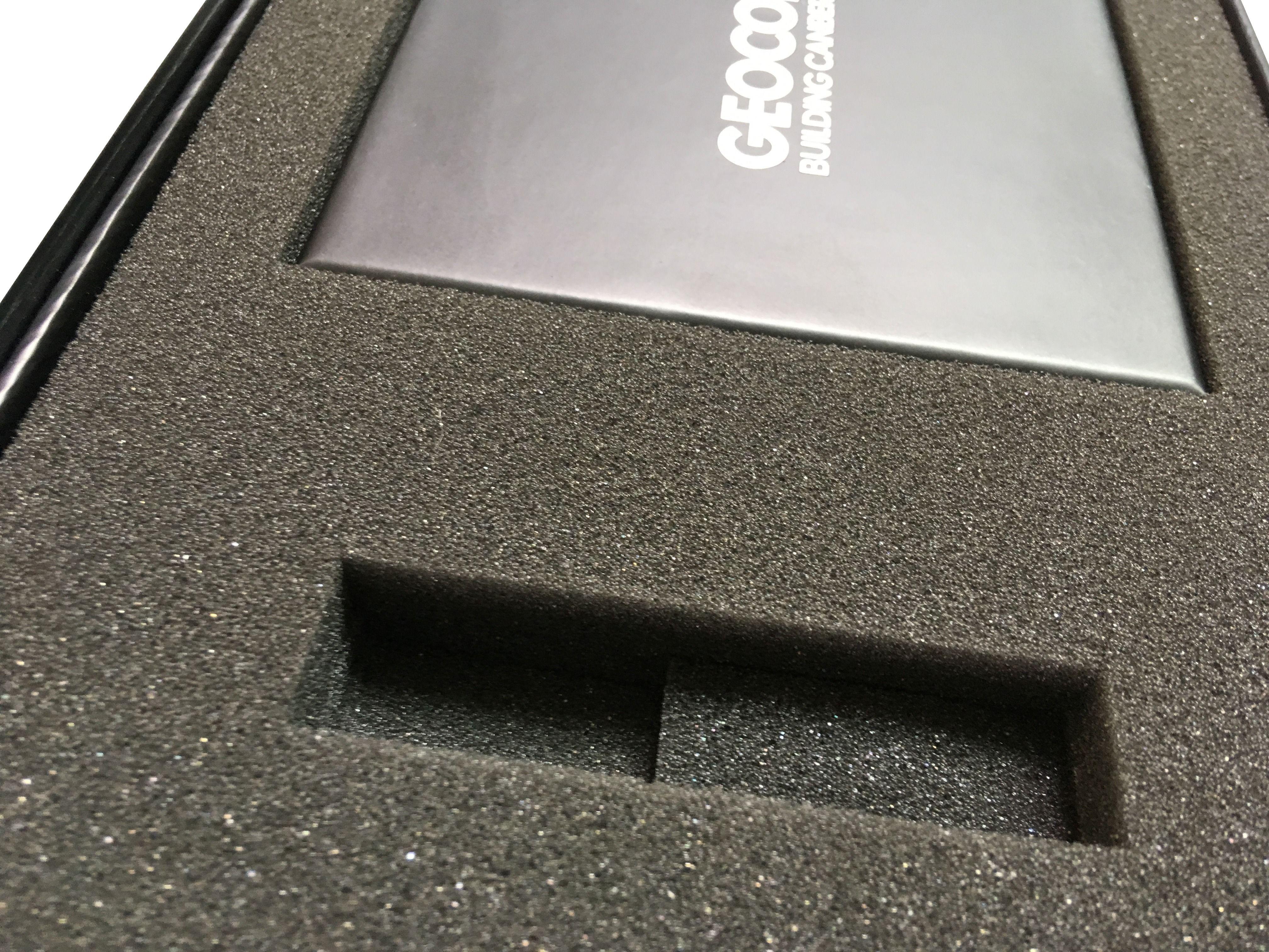 Bespoke Branded Box In Custom Cut Foam Tailored Packaging Gift