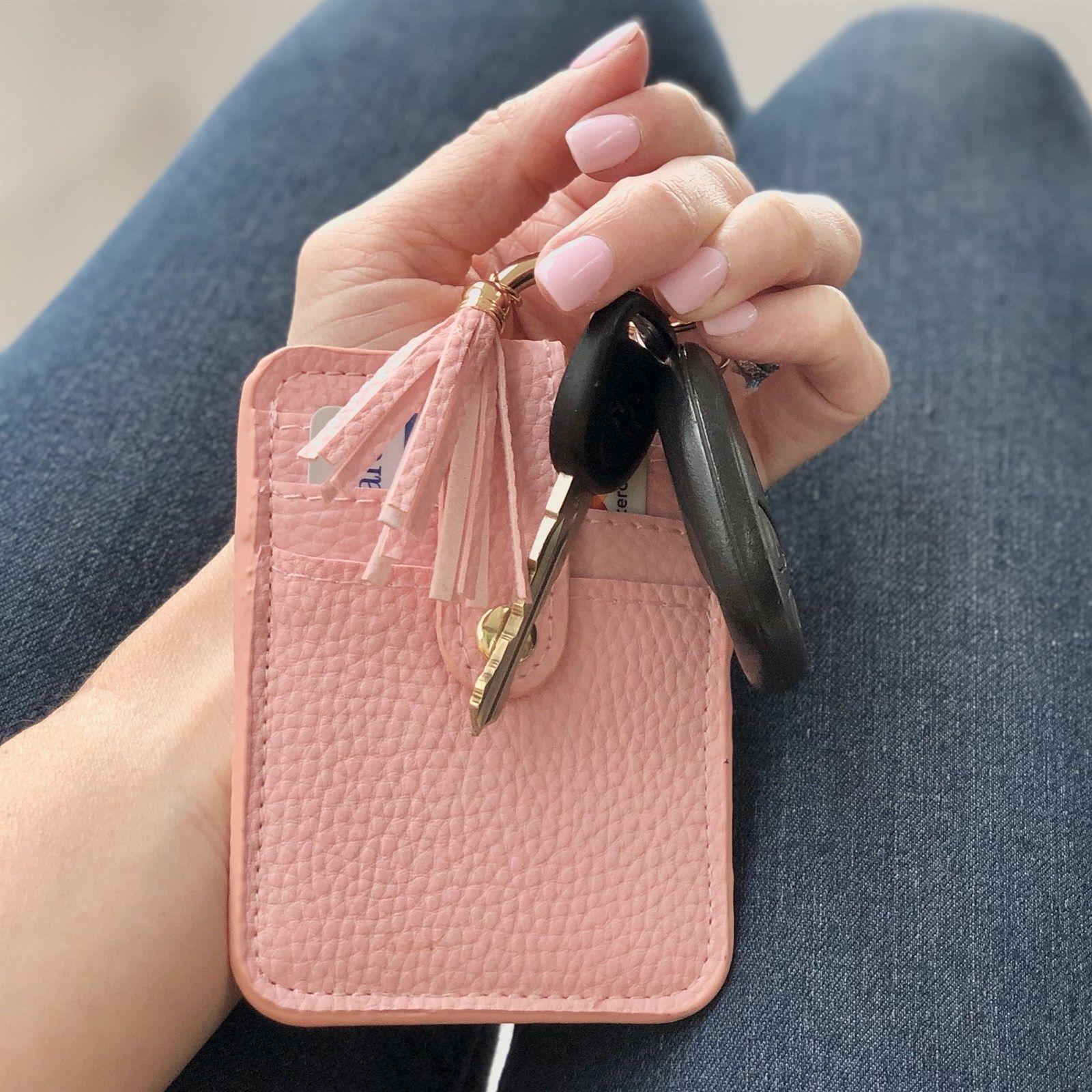 Credit card wallet keychain in 2020 keychain wallet