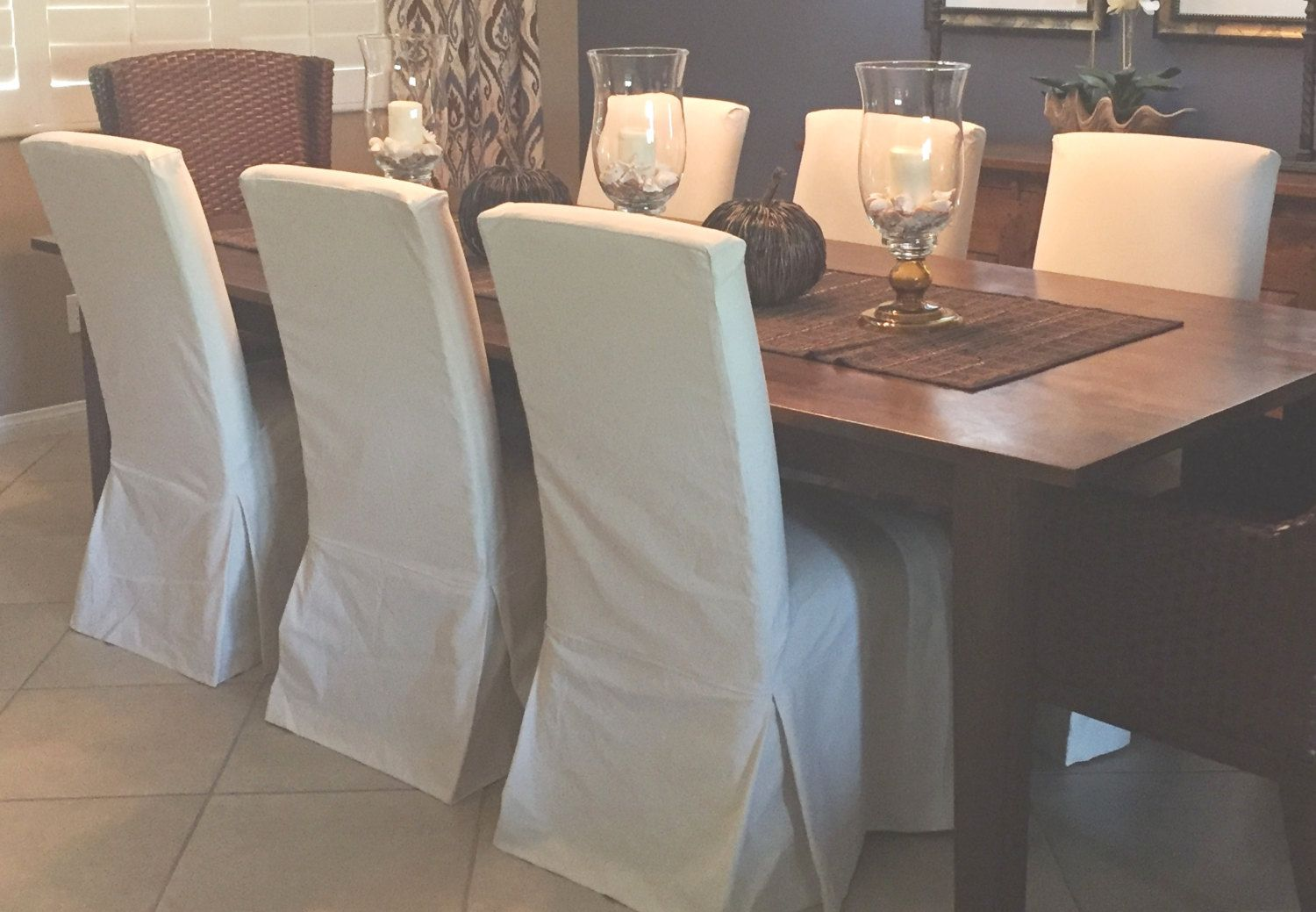 Custom Parsons Chair Slipcovers By Customchaircoverings On Etsy