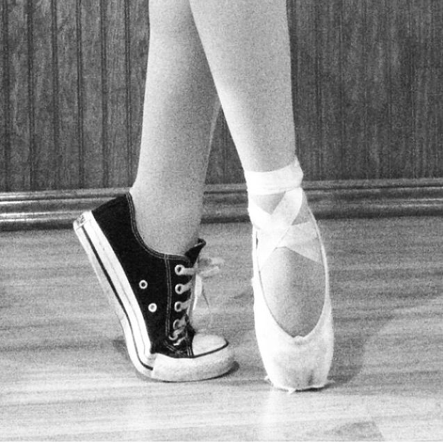 9ecb34e1aecd Converse and pointe shoes my favorite shoes in the world!
