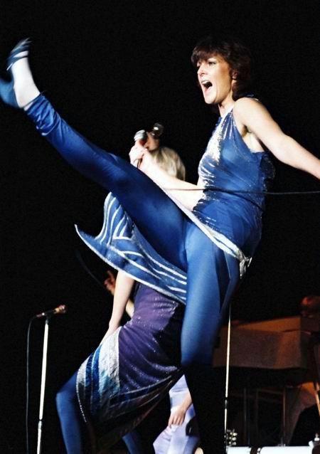 ABBA Frida and Agnetha North America and Europe Tour 1979