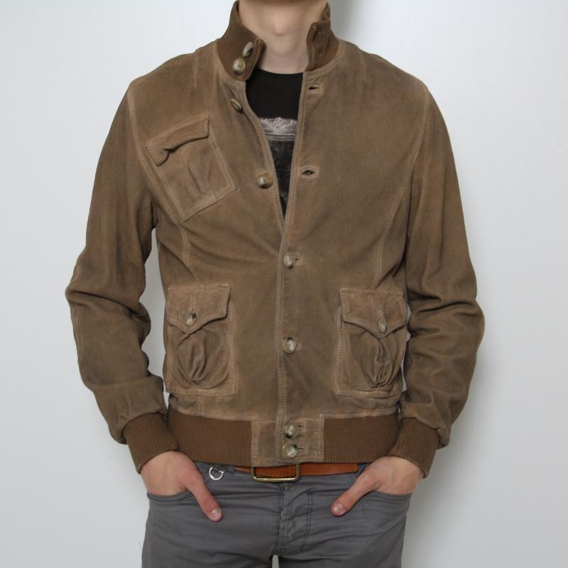 cheap for discount 619e5 9841b giacca pelle scamosciata uomo - Cerca con Google ...