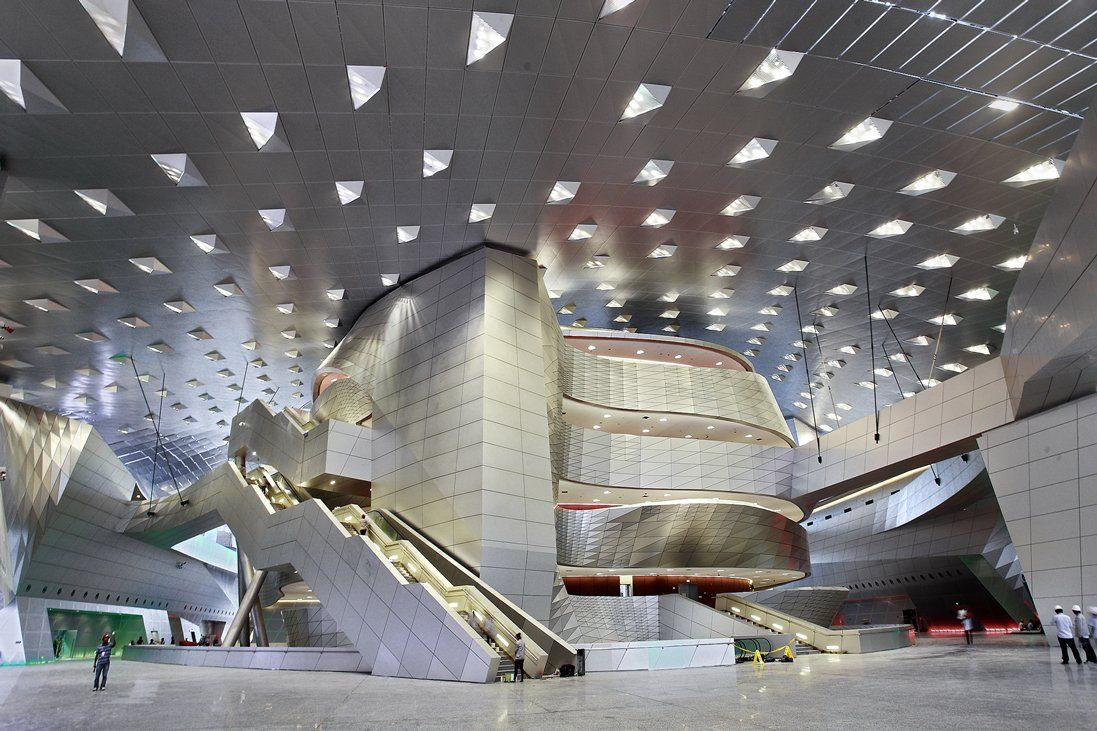 Conference Center by Coop Himmelblau (Dalian ...