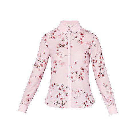 ee24d82ae Buy Ted Baker Atterba Blossom Long Sleeve Shirt