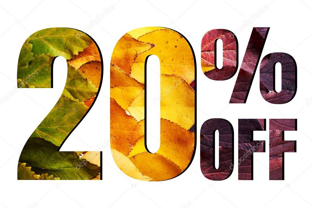 20 Off Discount Promotion Sale Poster Ads Autumn Sale Banner Stock P Aff Promotion Sale Discount Poster Ad Sale Poster Sale Banner Artist Logo