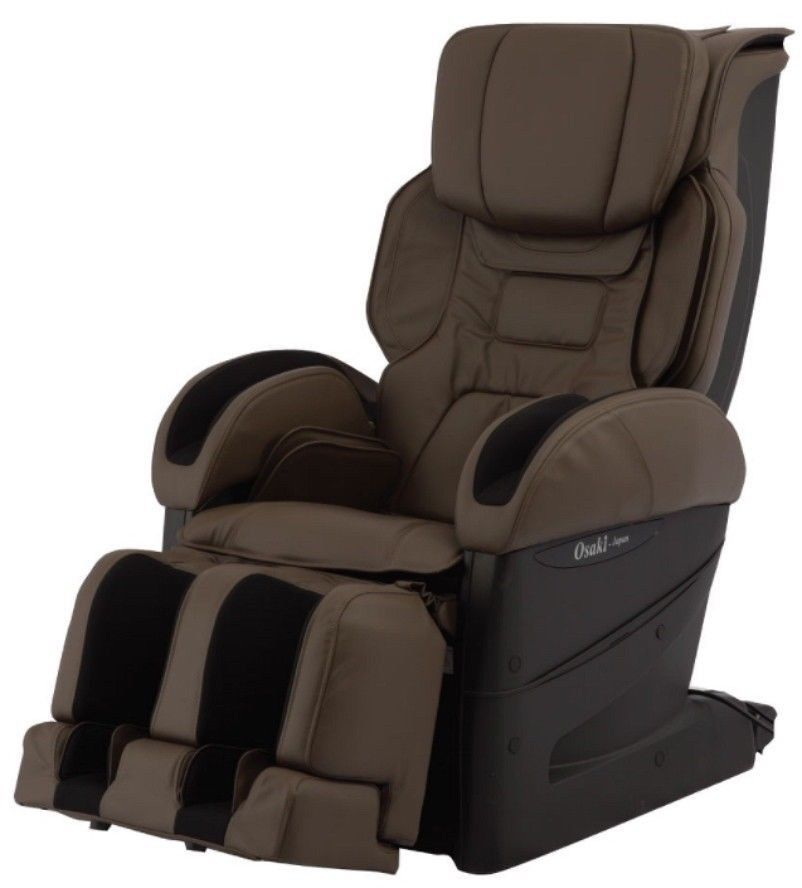 Brown osaki jp japan premium 4d massage chair recliner