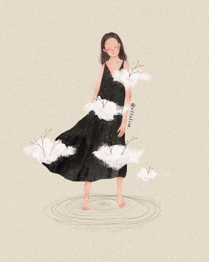 Ilustrasi Orang in 2020 Girly art, Dreamy art, Pop art girl
