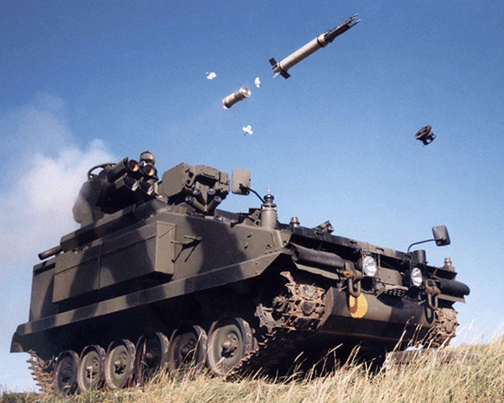 Stormer Hvm Starstreak Self Propelled Anti Aircraft Missile