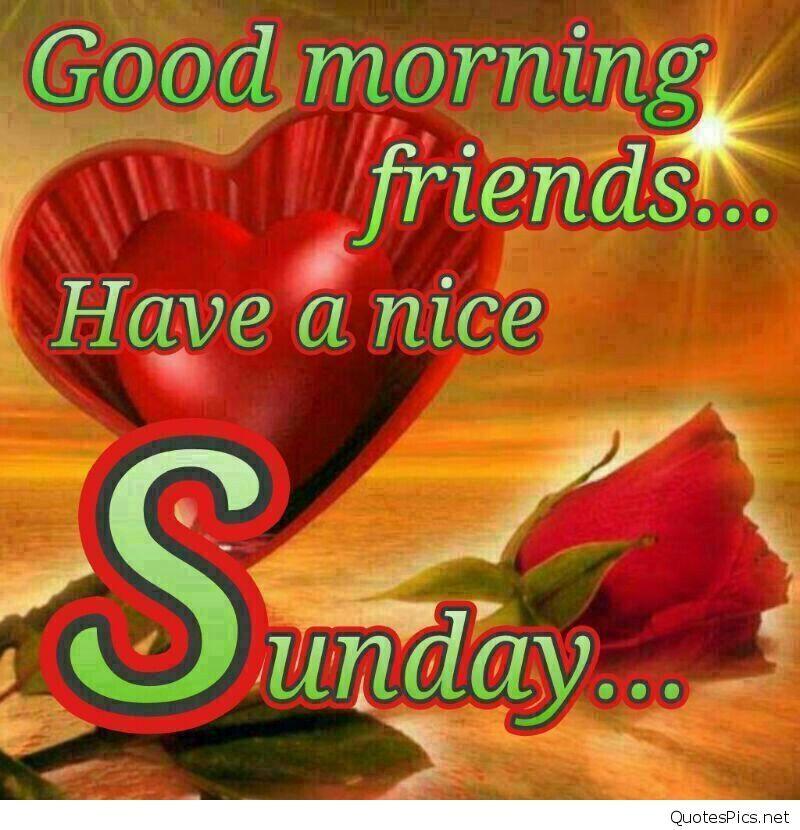 Good Morning Friends Happy Sunday Happy Sunday Morning Cards