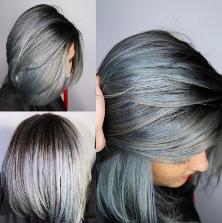 Denim Dye Hair : Quand La Couleur De Nos Cheveux Vole