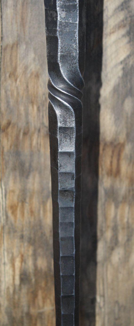fireplace tool set wrought iron octagon style от pushkinoforge