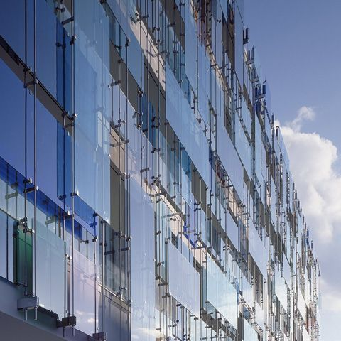 Glass Spider Clip Facades Balcony Mimari Mimari