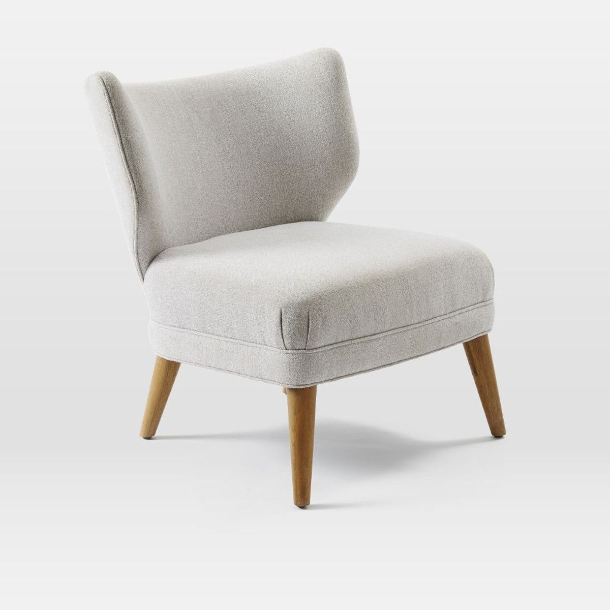 Retro Wing Chair West Elm Australia Small Chair For Bedroom