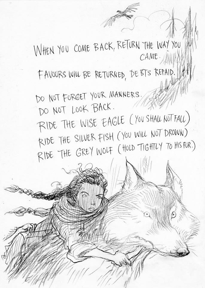 Chris Riddell's illustrations for Neil Gaiman's The