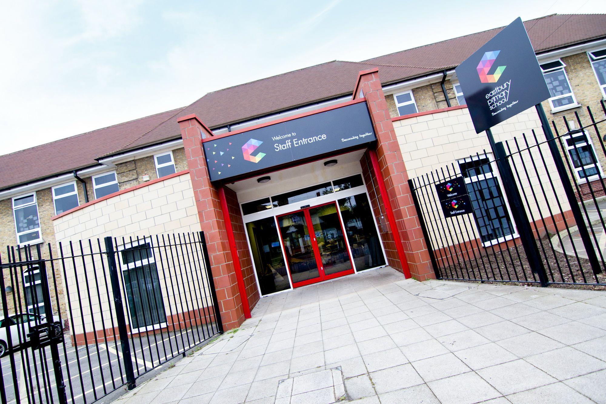 Eastbury Primary School Brand design u0026