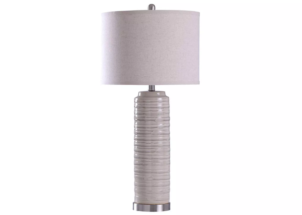 Anastasia Table Lamp Buff Beige StyleCraft Table lamp