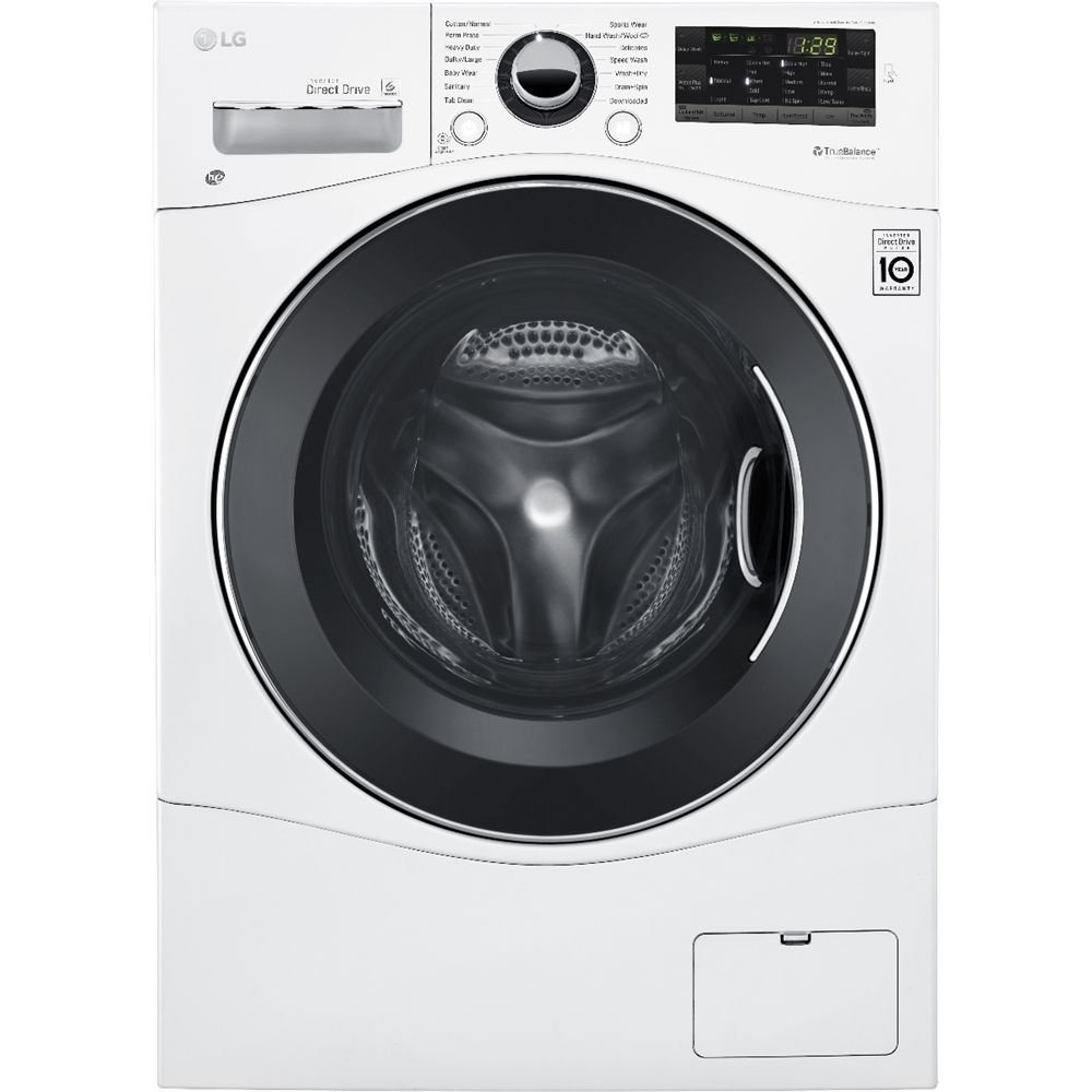 Lg cuft cycle frontloading compact washer and cycle