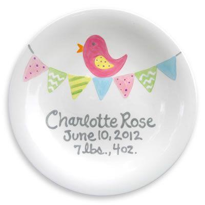 Tiny Tweet Birth Plate  sc 1 st  Pinterest & Tiny Tweet Plate | Birth Crafty and Craft