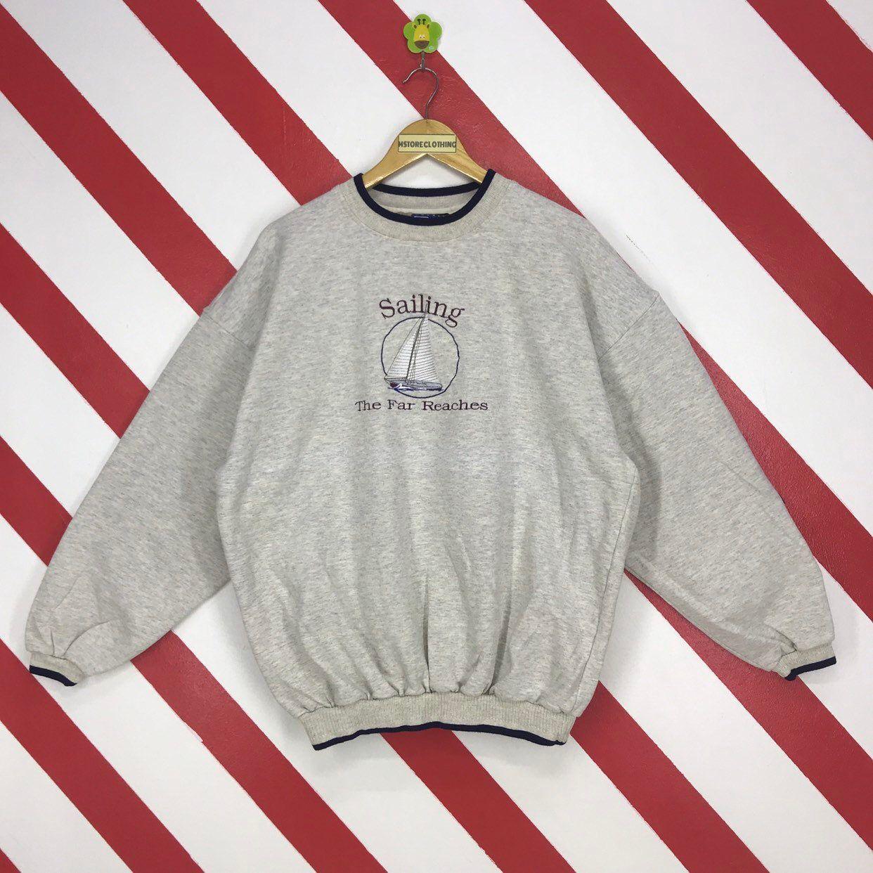 Vintage Sweater Grey Jumper Retro Jumper 90s Jumper Knitted Jumper Boho Jumper Vintage Jumper Winter Jumper