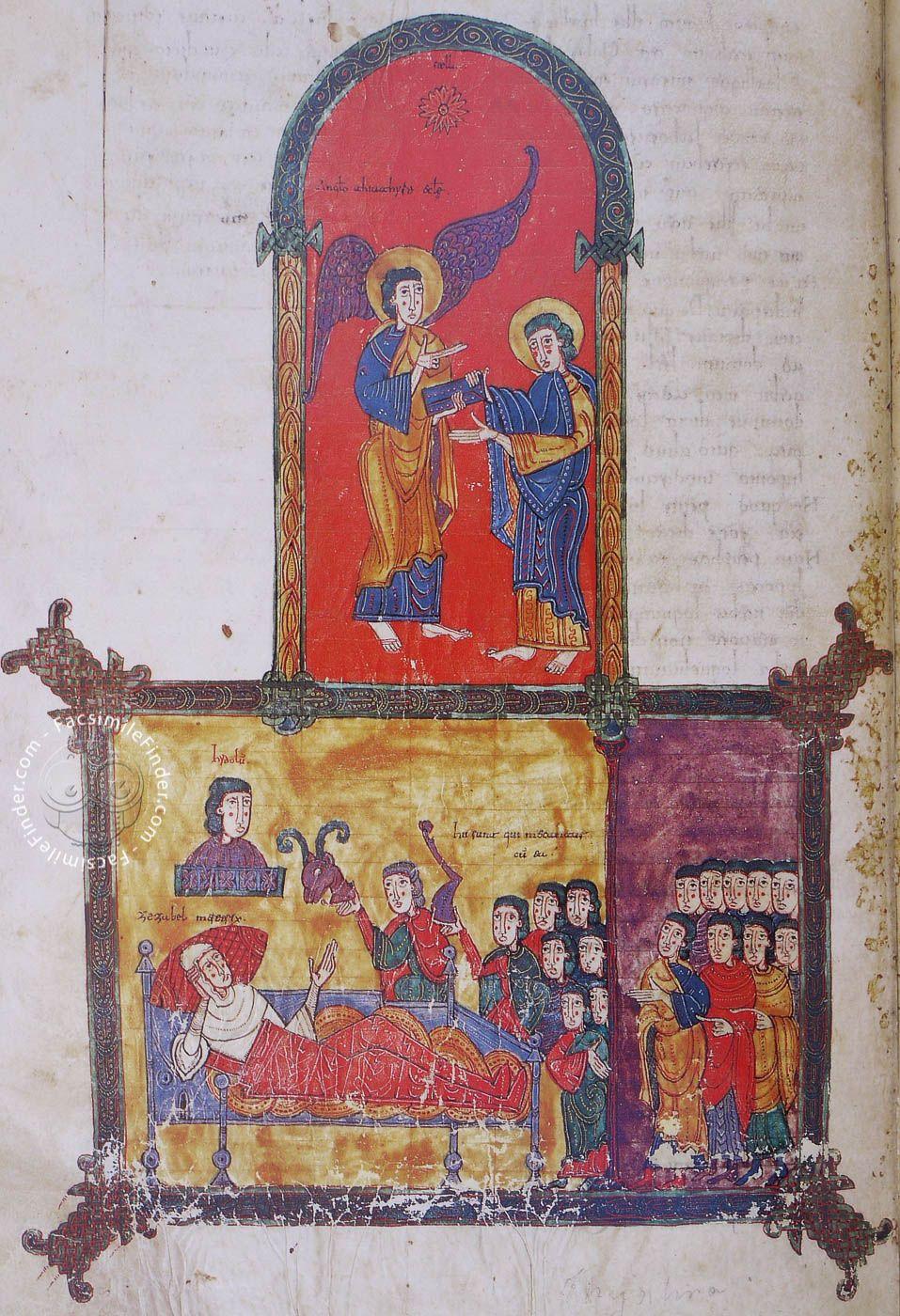 Beatus Of Liebana Burgo De Osma Codex Medieval Life Illuminated Manuscript Prints
