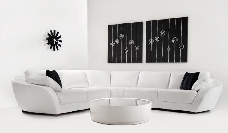 Contemporary curved sofa For the Home Pinterest Room and - contemporary curved sofa