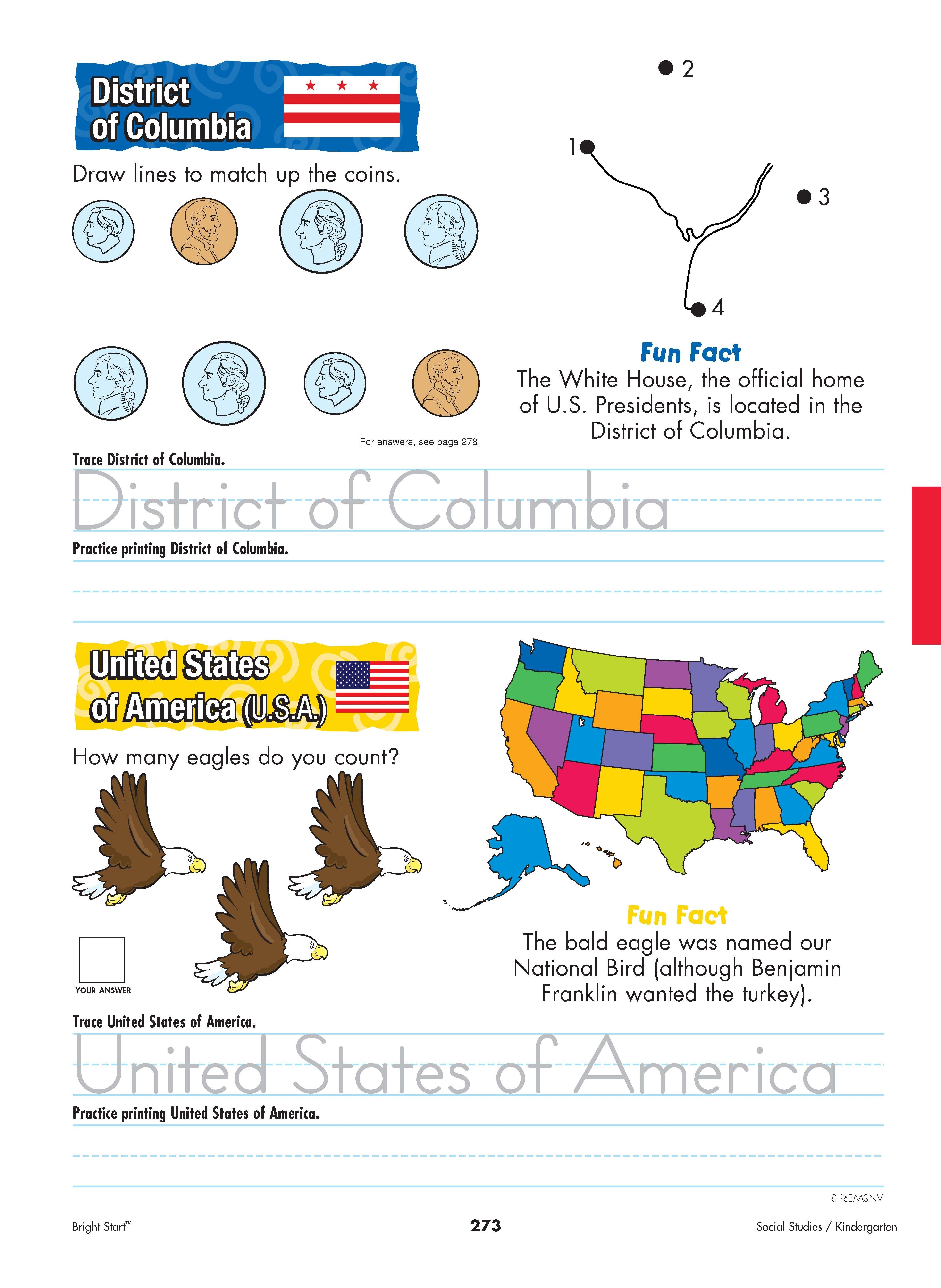 Disctrict Of Columbia And United States Of America Your