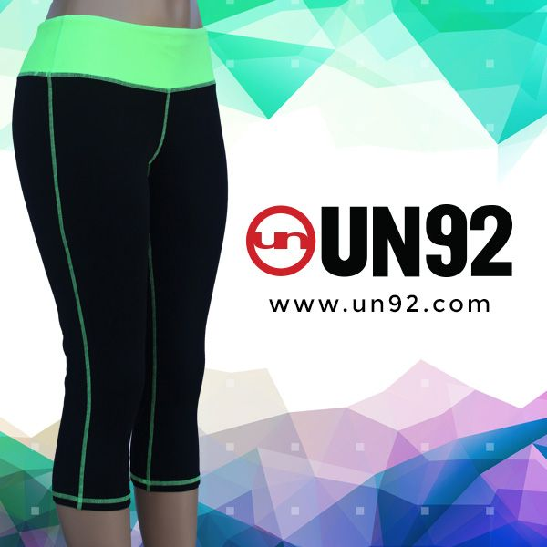 The most durable, comfortable and flattering women's workout capris yet without the obnoxious price. UN92 Core Capris: http://un92.com/shop/index.php/capris.html