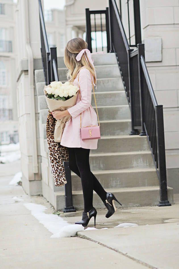 c88cb8b40eb9 25 Beautiful Pink Outfits for Fall and Winter - Be Modish - Be Modish